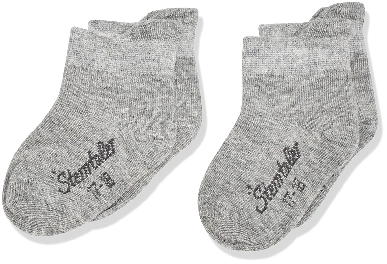 Sterntaler Sneaker-Söckchen Dp Uni, Chaussettes Mixte Bébé (lot de 2)