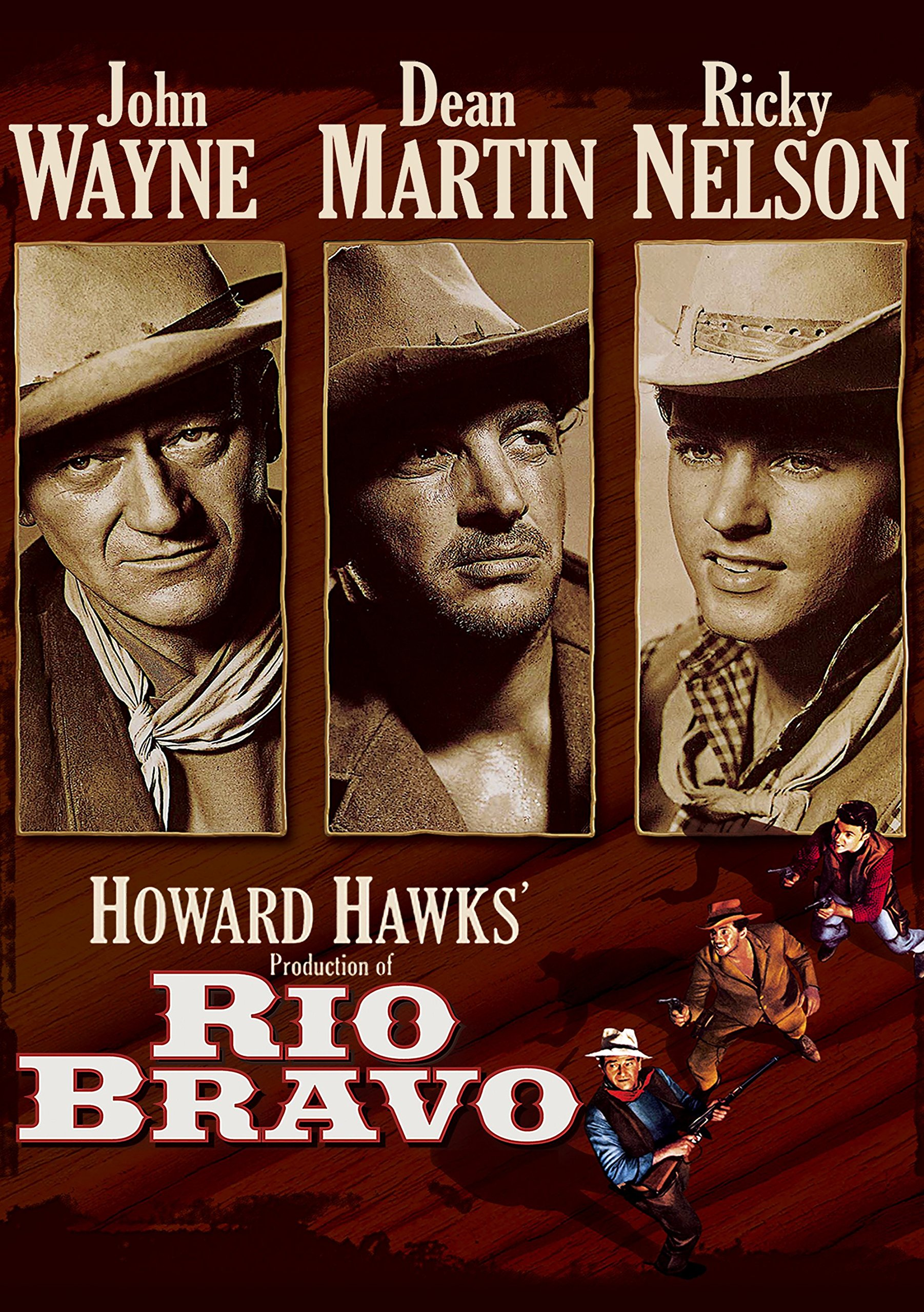 Amazon.com: Rio Bravo (1959): John Wayne, Dean Martin, Rick Nelson ...