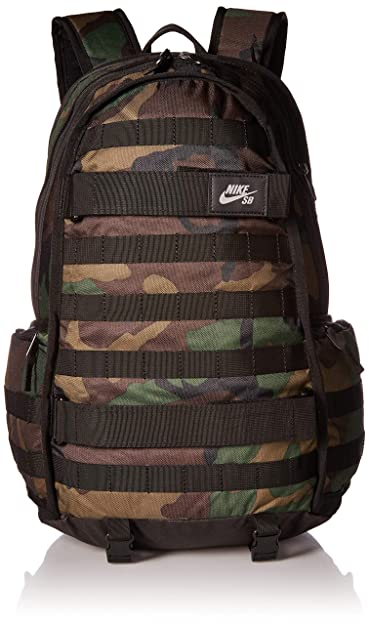 8c67f89aebd63 Amazon.com  Nike SB RPM Solid Backpack Black Black  Sports   Outdoors