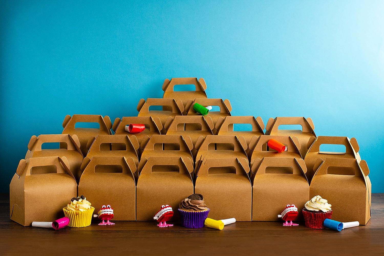 20/x Party Kuchen braun Carry Boxen