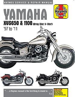 amazon com haynes repair manual xvs650 1100 v star 4195 automotive rh amazon com 2007 yamaha v star 650 classic owners manual 2007 yamaha v star 650 classic owners manual pdf
