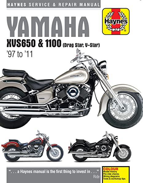 amazon com 04 05 yamaha xvs11a haynes repair manual misc automotive rh amazon com yamaha v star 1100 service manual yamaha v star 1300 owners manual