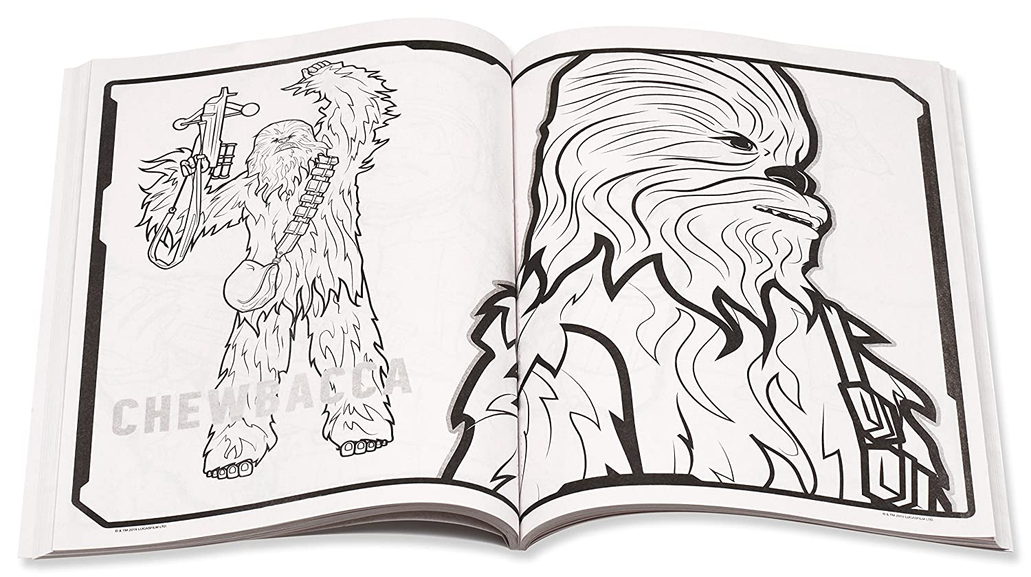 Amazon Star Wars The Force Awakens Coloring Book