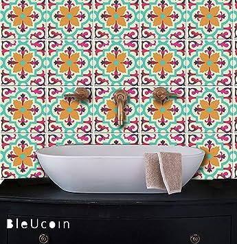 Fliesen Aufkleber Im Art Deco Mehrfarbenart, Küche Und Badezimmer Backsplash  Fliesen
