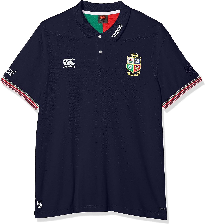 Canterbury Herren Poloshirt Vapodri Trainings-Poloshirt British and Irish Lions