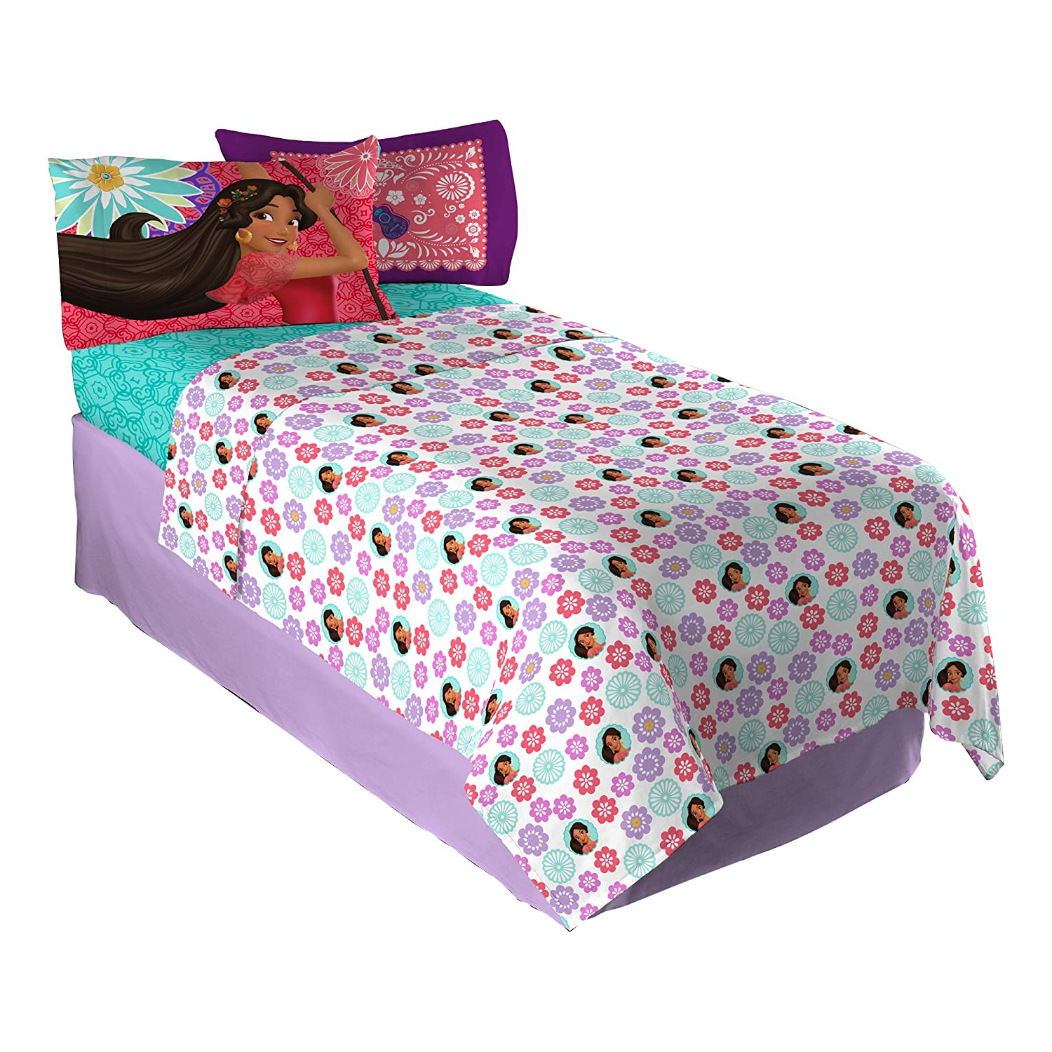 Disney Elena of Avalor Let Your Heart Sing Sheet Set, Twin