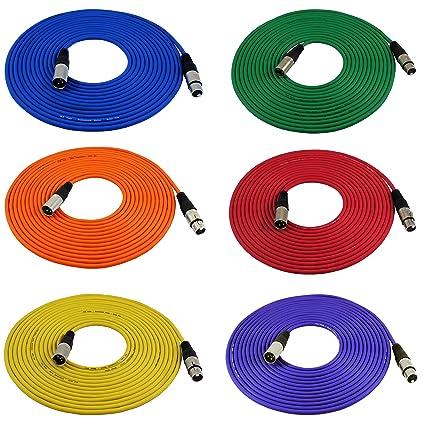 amazon com gls audio 25ft mic cable cords xlr male to xlr female rh amazon com XLR Microphone Wiring Diagram Unbalanced XLR Wiring