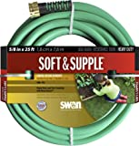 Swan Soft and Supple SNSS58025 5/8-Inch X 25-Foot Green Garden Hose