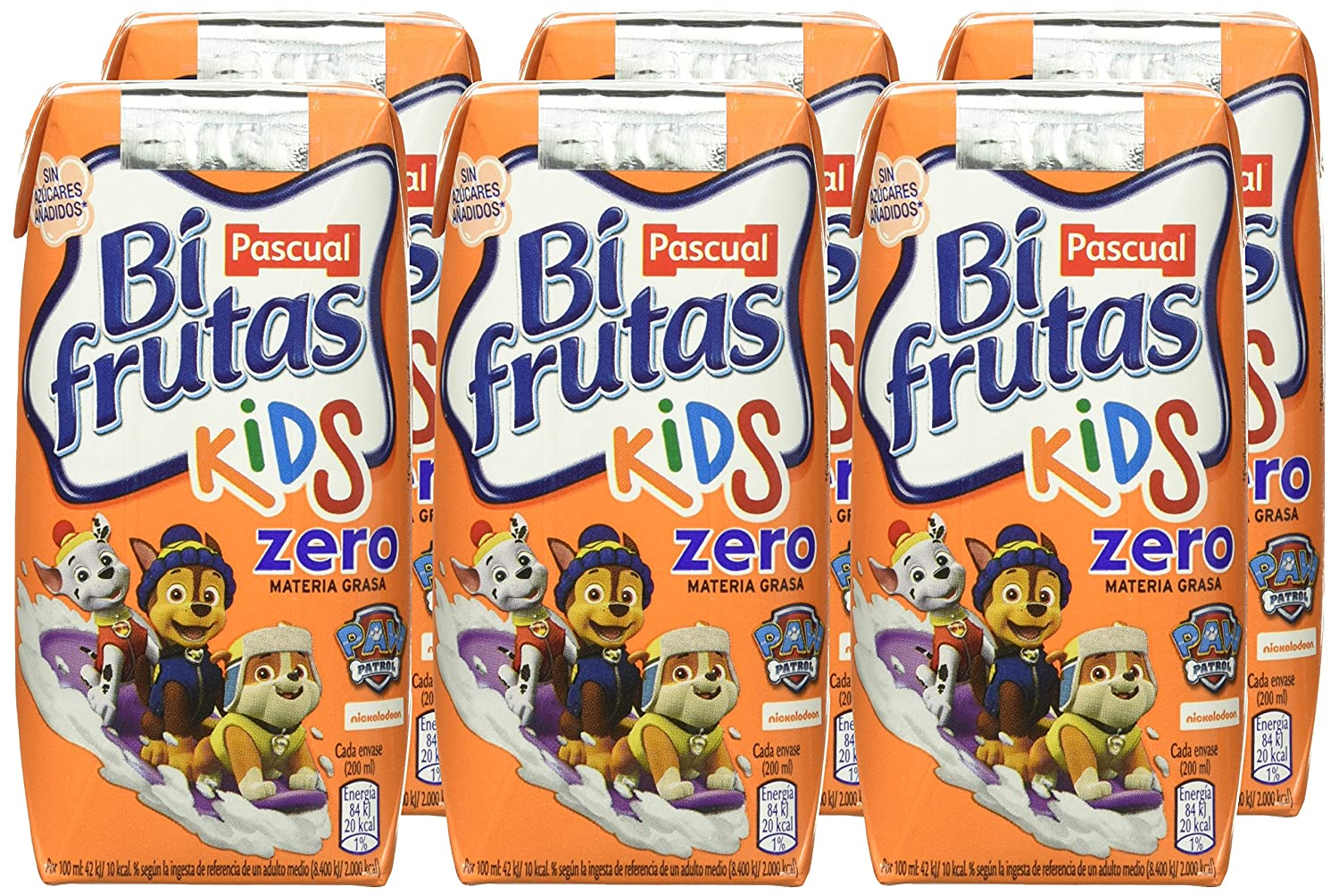 Bifrutas Bebida Tropical Zero - Pack de 6 x 20 cl - Total: 120 cl: Amazon.es: Amazon Pantry