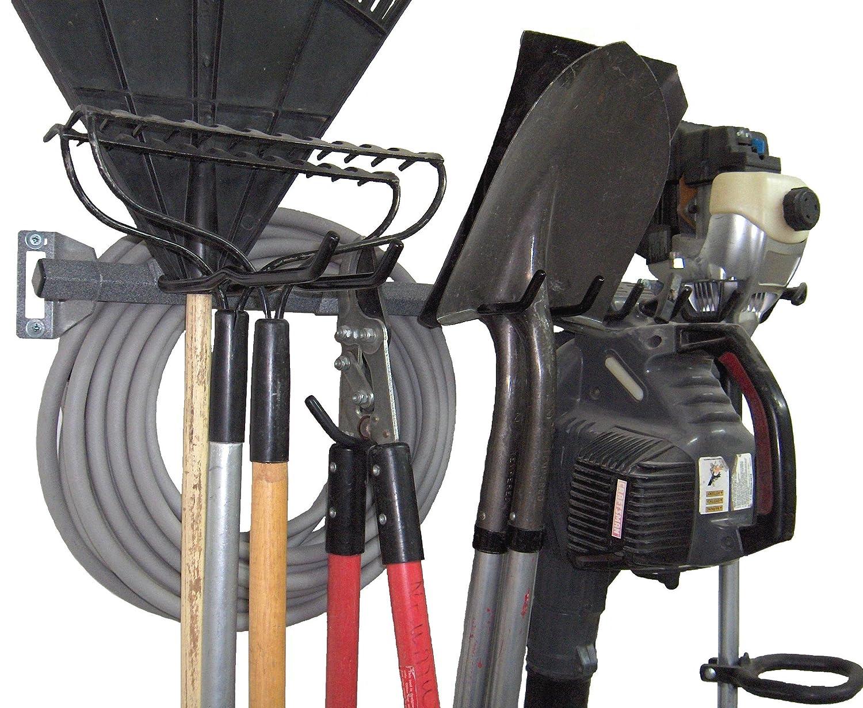 amazon com monkey bars yard tool rack large home u0026 kitchen