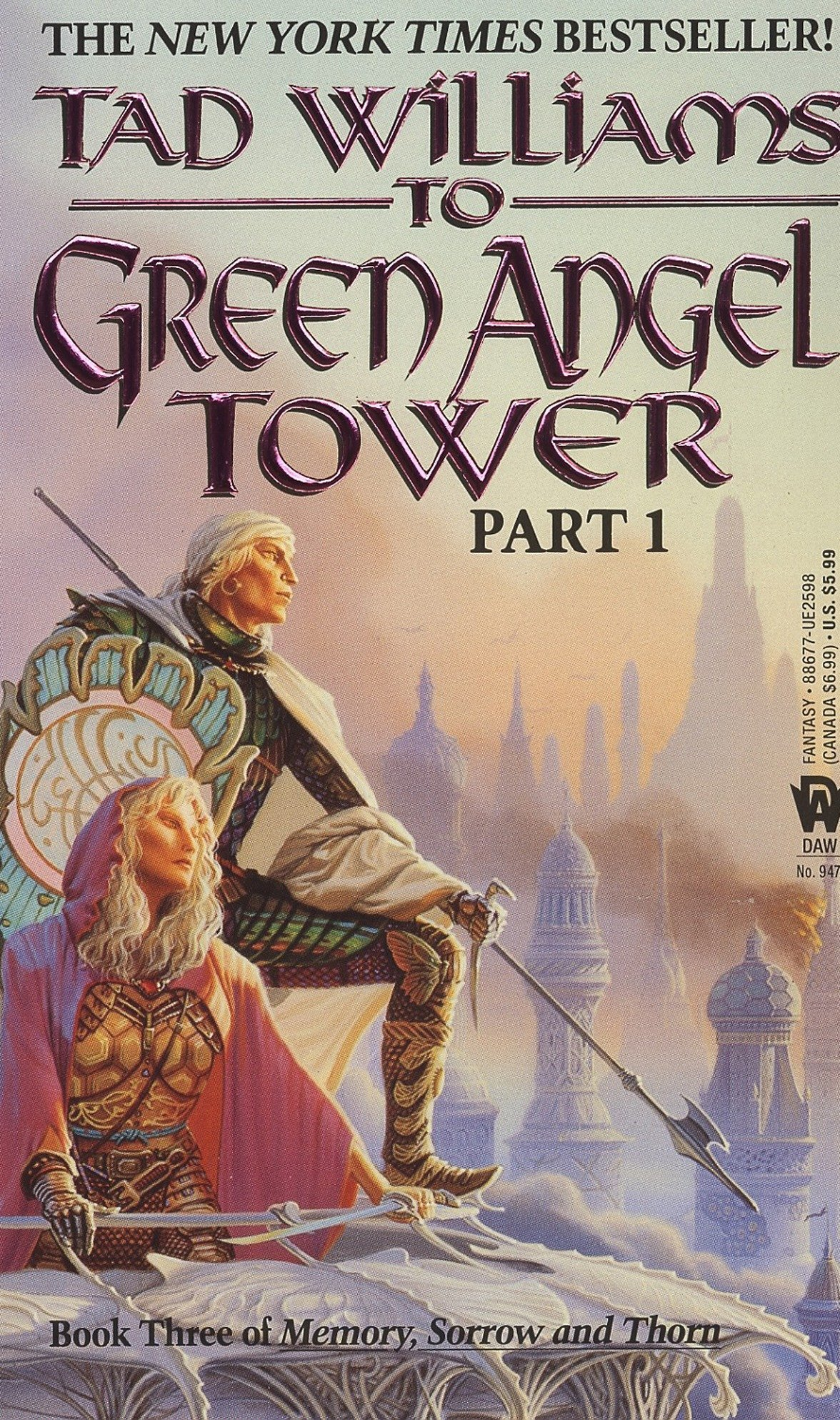 To Green Angel Tower Part 1: Book Three of Memory, Sorrow, and Thorn