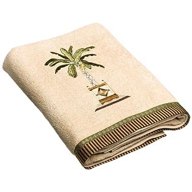 Avanti Linens Banana Palm Bath Towel, Linen