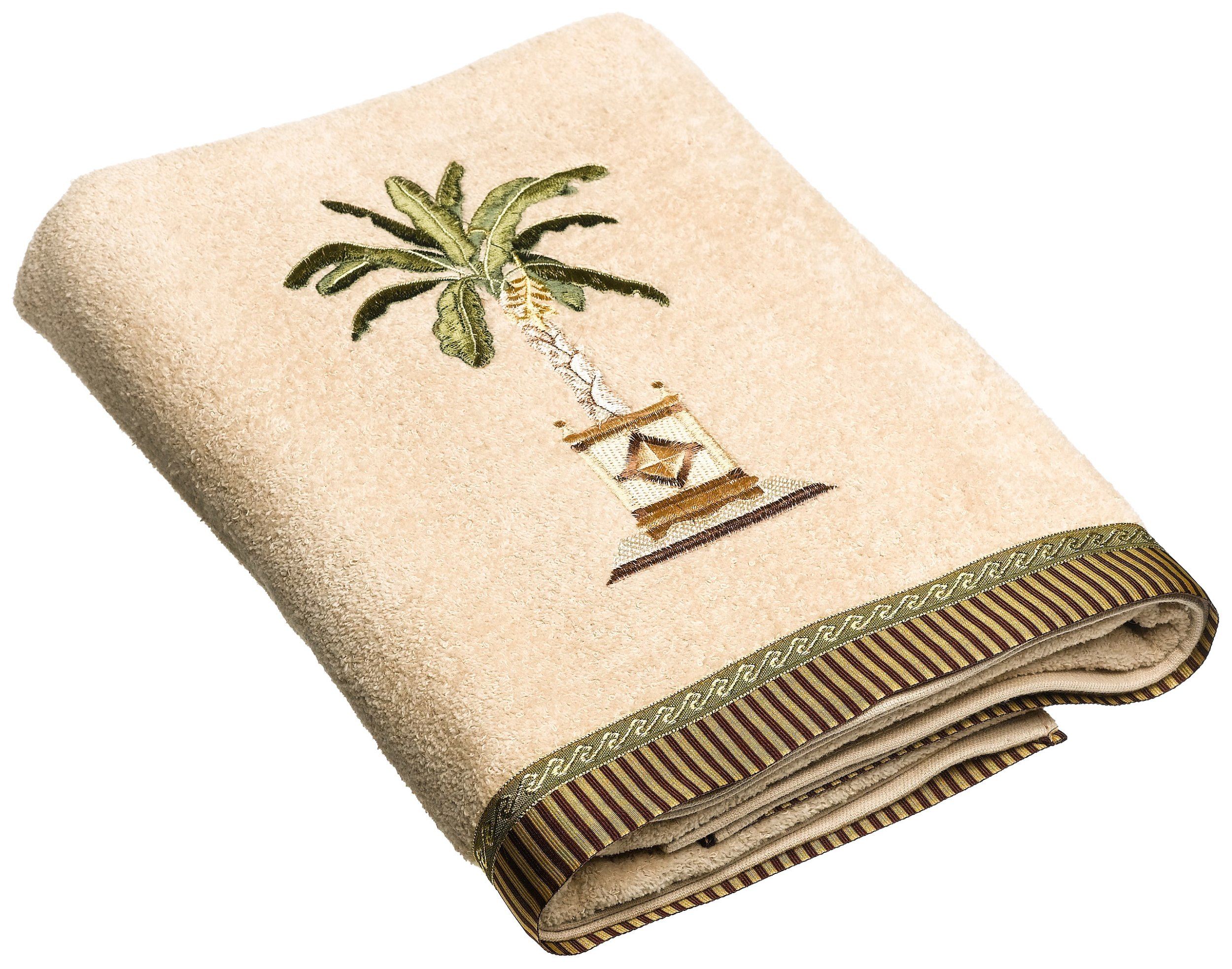Avanti Linens Banana Palm Bath Towel, Linen by Avanti Linens