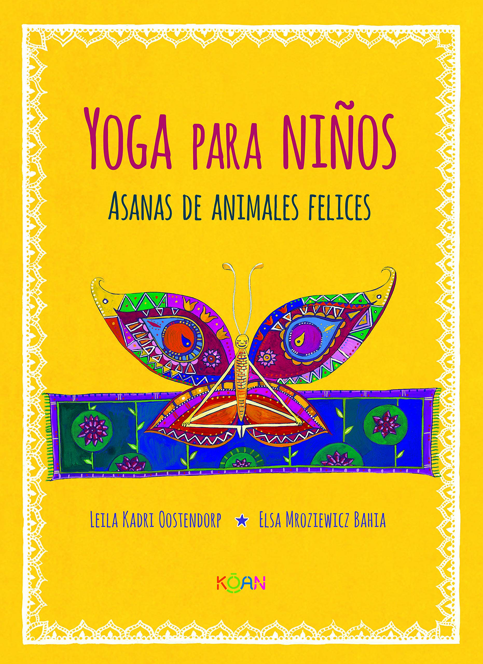 Yoga para niños / Yoga for Children: Asanas de animales ...