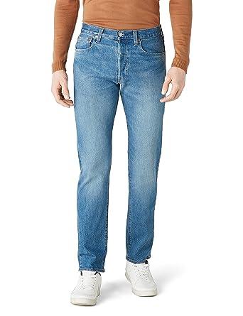Levis Hombren Jeans Pantalones 501 Original Fit Penne