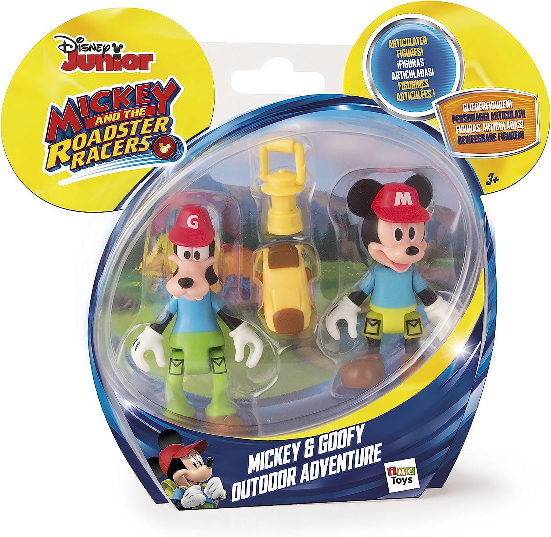 IMC Toys Mouse Disney Juguete Aventura al Aire Libre con figurinas de Mickey y Goofy, Multicolor (181878): Amazon.es: Juguetes y juegos