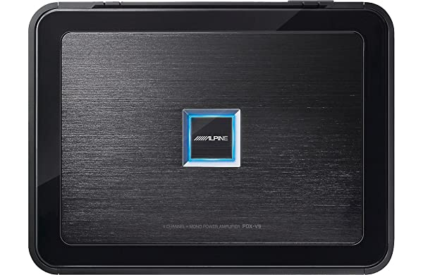 Roll over image to zoom in Alpine PDX-V9, 5-Channel Extreme Power Density Digital Amplifier