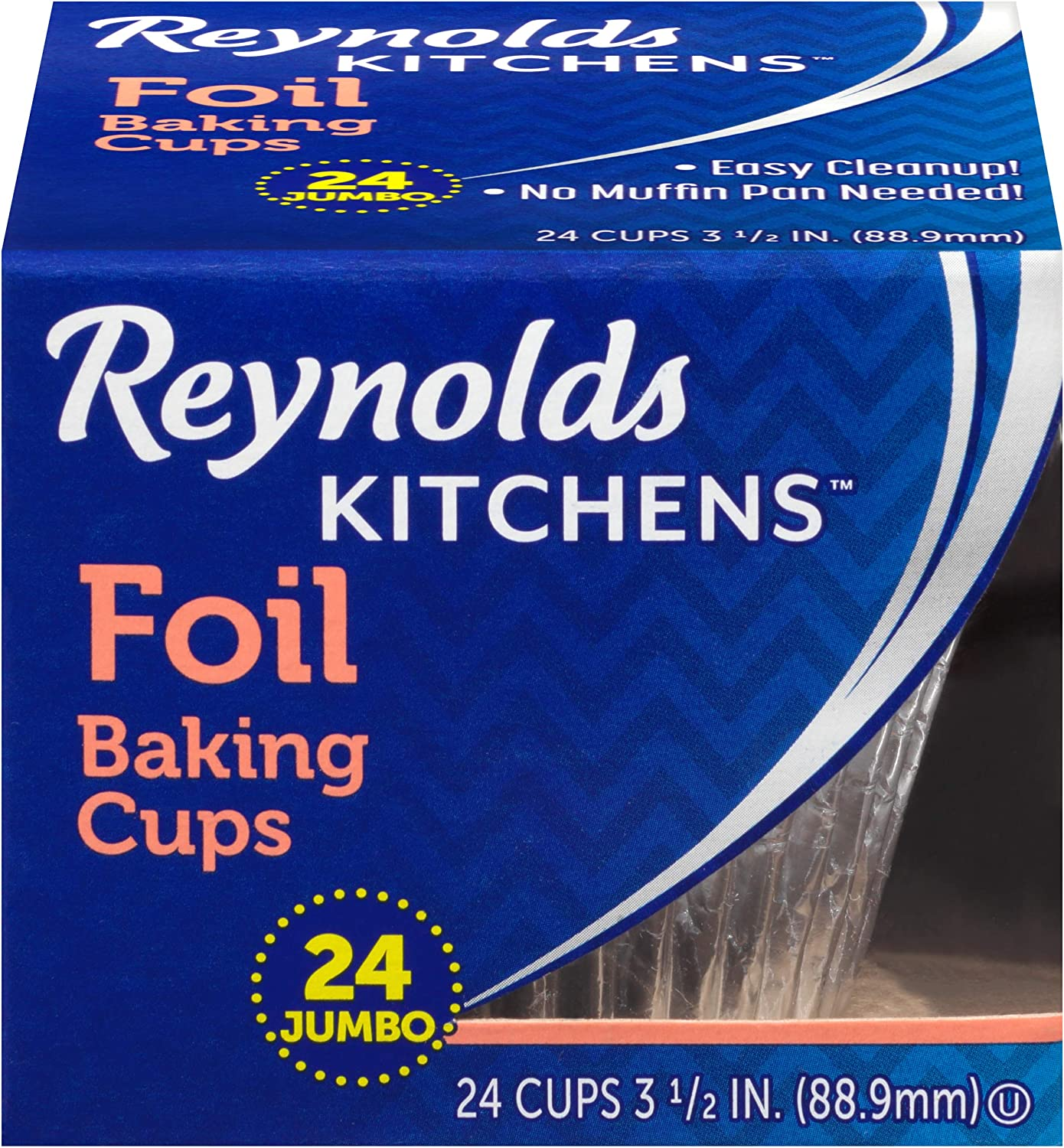 Reynolds Baking Cups, Jumbo, 288 Cups, 12 Count