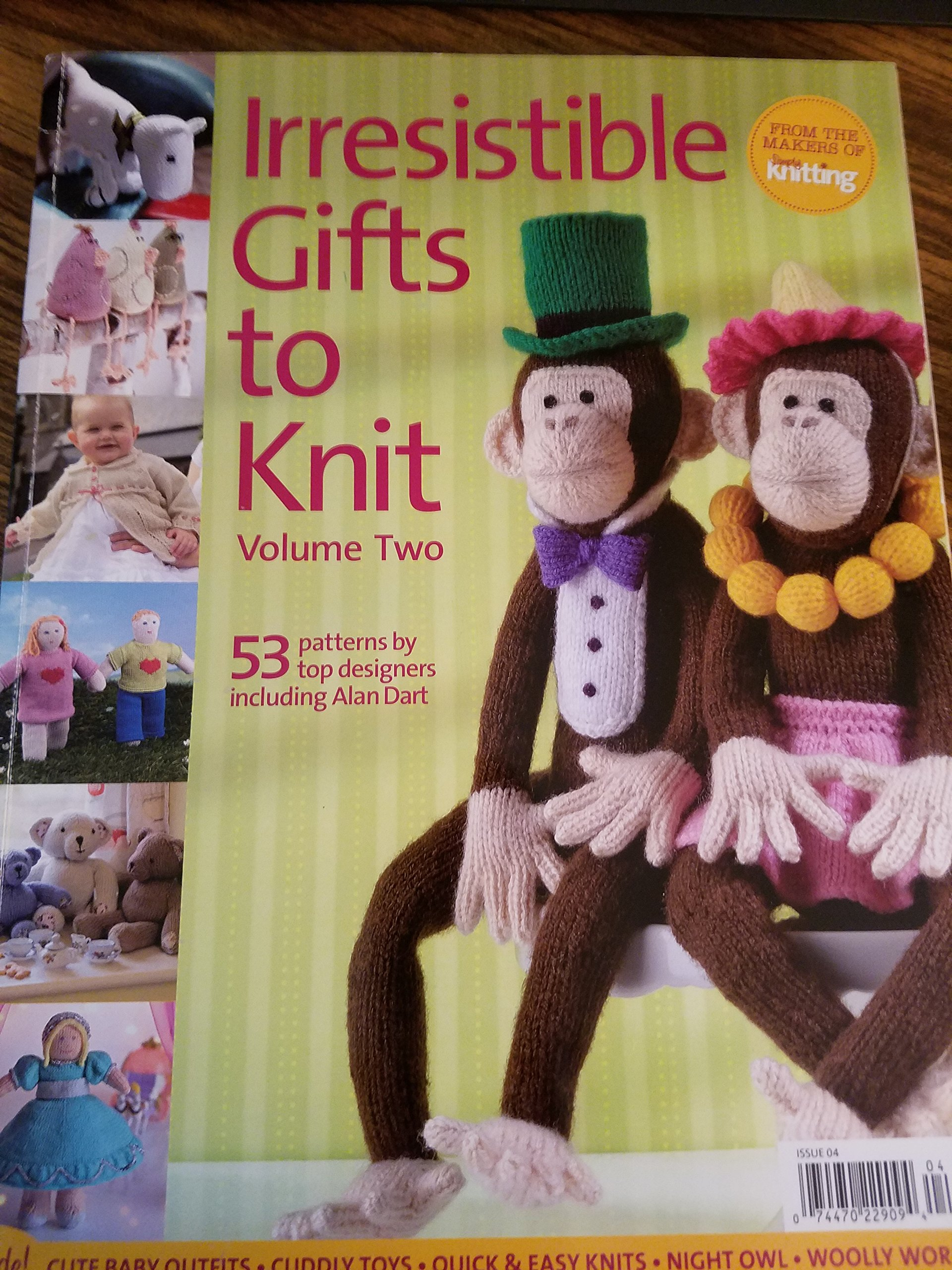 IRRESISTIBLE GIFTS TO KNIT, VOLUME TWO: 53 PATTERNS BY TOP DESIGNERS ...