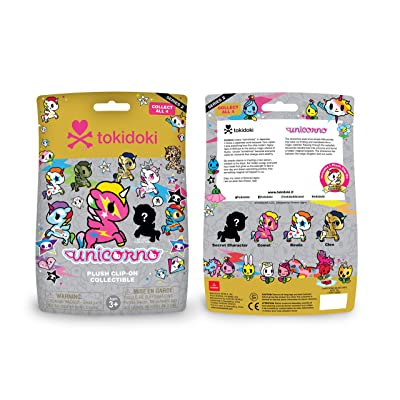 tokidoki Aurora World Unicorno Plush Clip-on Collectible Series 2 Single Blind Bag: Toys & Games [5Bkhe1001368]