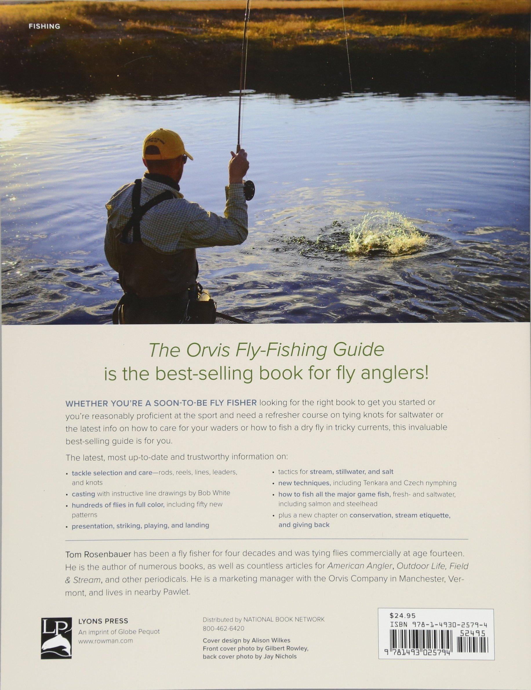 The Orvis Fly-Fishing Guide, Revised: Tom Rosenbauer: 9781493025794:  Amazon.com: Books