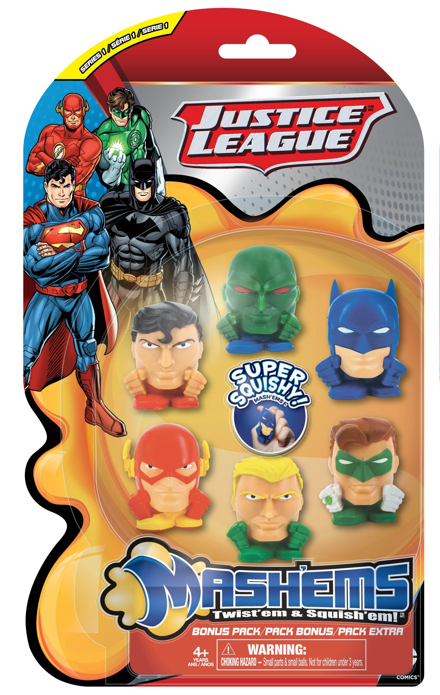 Tech4Kids Justice League Mashem Toy (6 Pack) 4