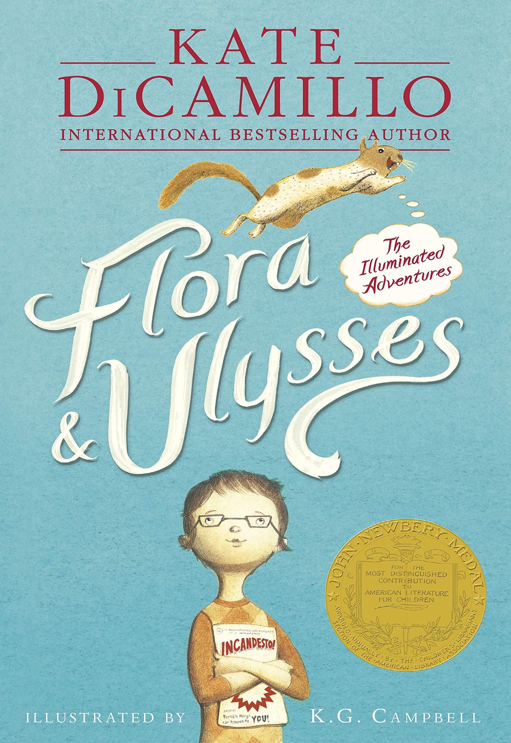 Flora & Ulysses Illuminated Adventures: Kate DiCamillo, Kate DiCamillo,  Kate DiCamillo: 9781406354560: Amazon.com: Books