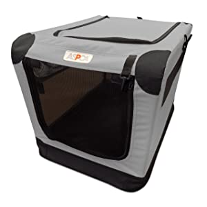 Portable Soft Dog Crate by ASPCA