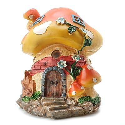 Darice Yard and Garden Miniature Large Mushroom House: Home & Kitchen