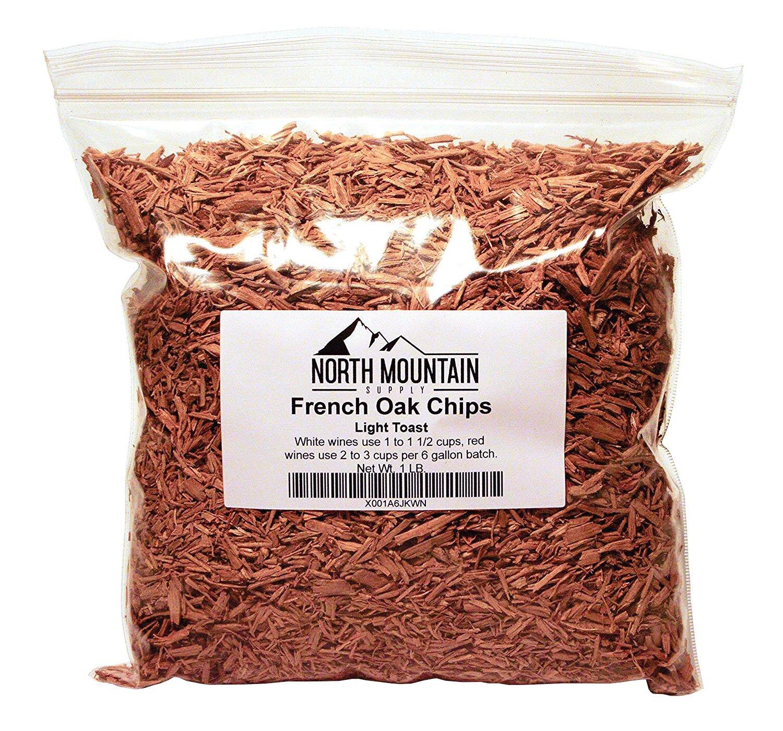 North Mountain Supply French Oak Chips Medium, 1 Pound