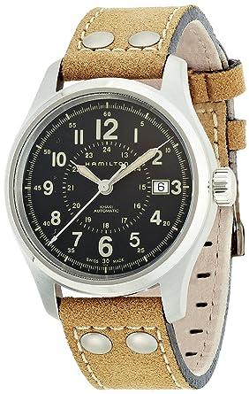 various colors db6f8 7bc3c [ハミルトン]HAMILTON 腕時計 正規保証 KHAKI FIELD AUTO(カーキ フィールド オート) H70595593 メンズ  【正規輸入品】