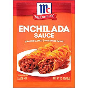 McCormick Enchilada Sauce Mix, 1.5 oz, Pack of 12