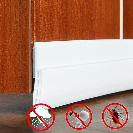Under Door Sweep Weather Stripping Soundproof Door Draft Stopper Direct  Energy Saver For Door Bottom Seal