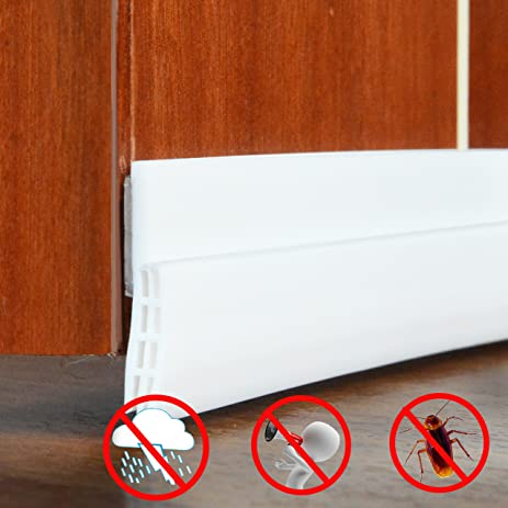 Captivating Door Draft Stopper   Weather Stripping Seal Anti Dust Sound Proof And Block  Cold Hot