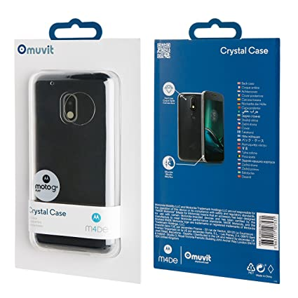 Amazon.com: MUVIT Crystal for Moto G4 Play: Electronics