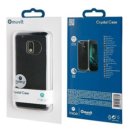 Amazon.com: MUVIT Crystal for Moto G4 Play: Electronics