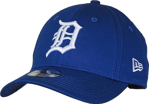 376ae0595f17 New Era Casquette Enfant 9FORTY League Essential Detroit Tigers Bleu Roi  Taille Enfant Ajustable