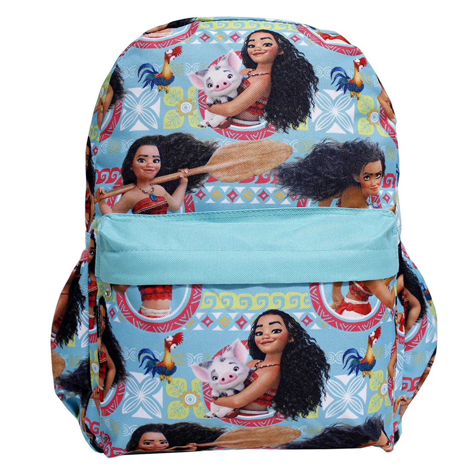 "Disney Moana 16/"" Large School Rolling//Roller Backpack For Girls"