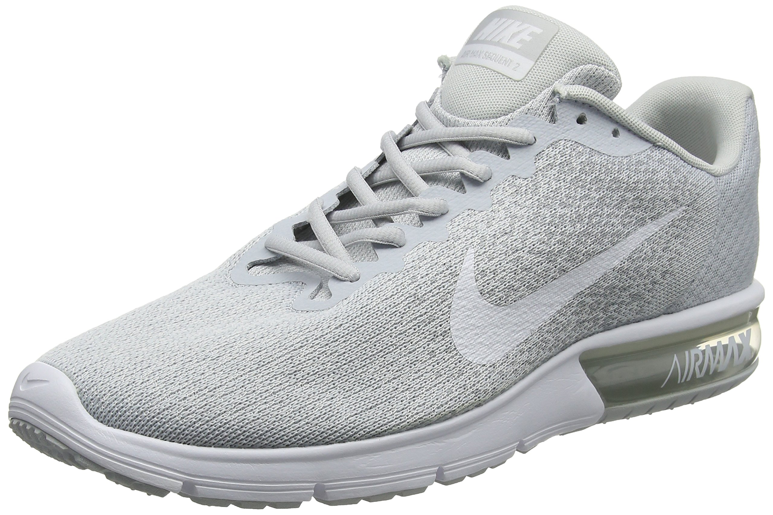 NIKE Women's WMNS Air Max Sequent 2, BlackMetallic Hematite Dark Grey, 5.5 5.5