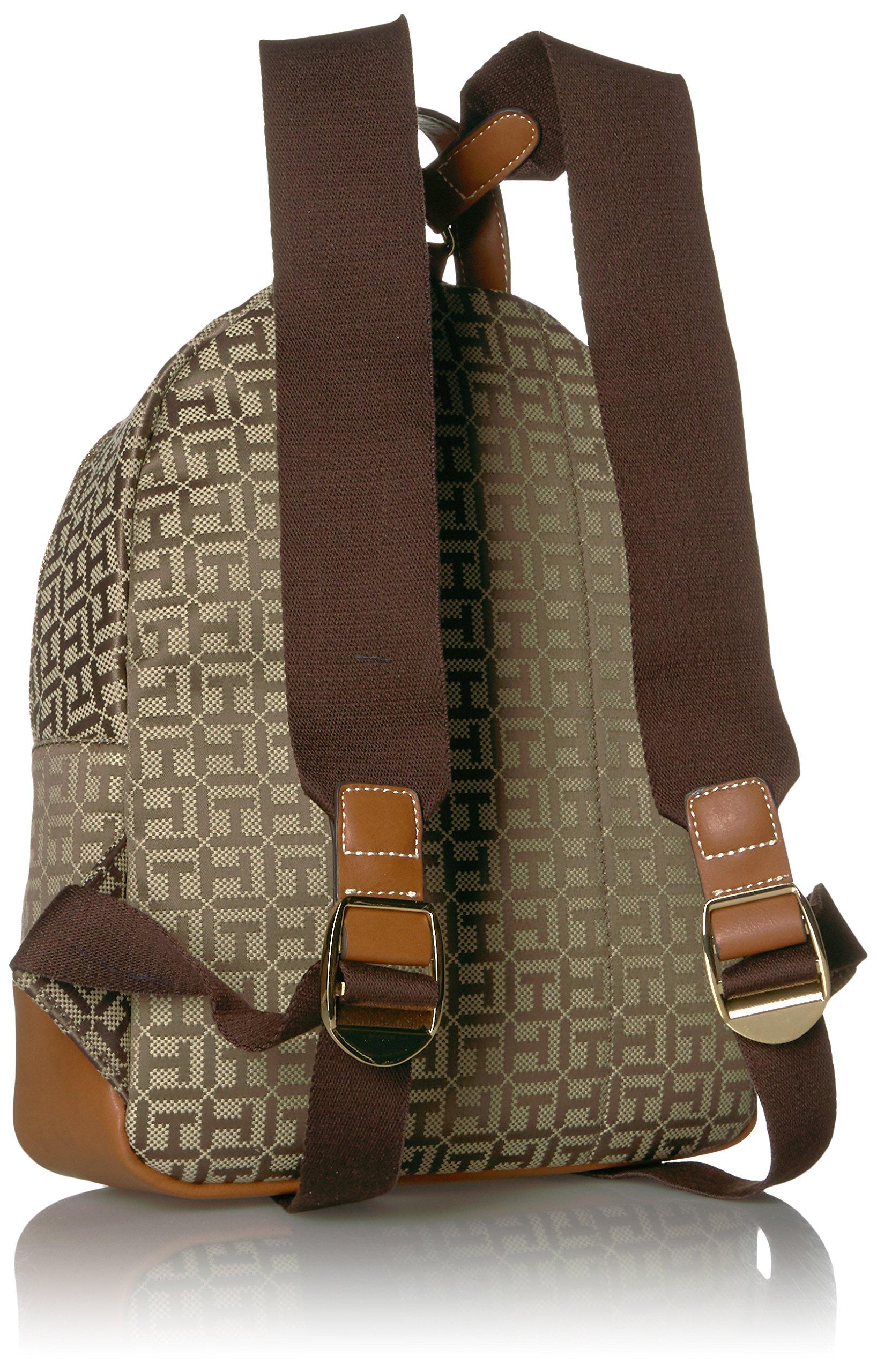Tommy Hilfiger Women's Backpack Jaden, Tan Dark Chocolate by Tommy Hilfiger (Image #2)