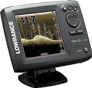 Lowrance Elite-5 DSI - GPS marino con plotter y sónar (importado): Amazon.es: Electrónica