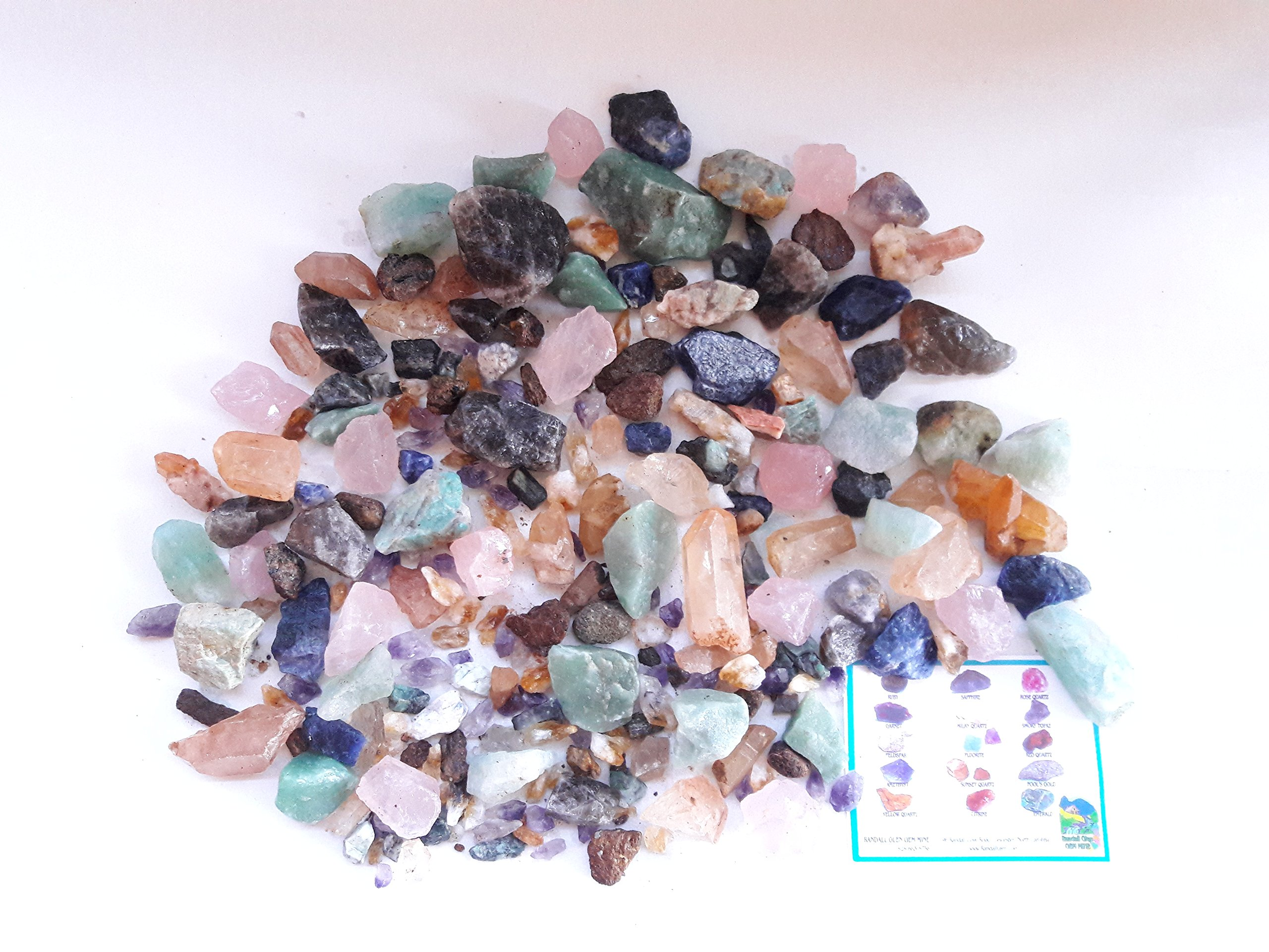 PARTY EXTRAVAGANZA TREASURE BOX Home Gem Mining Kit 22,000+ Carats of Gems