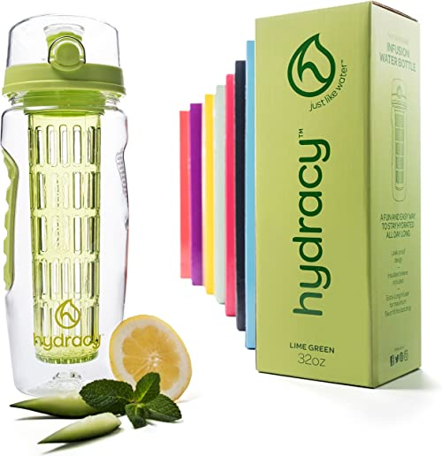 Hydracy Fruit Infuser Bottle Water Bottle