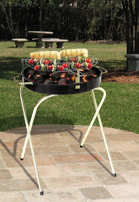amazon com marsh allen 724hh 24 inch folding charcoal grill