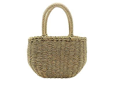 a18574b3e1 Youndcc Women Woven Straw Bag Rattan Bag Tote Bag Purse Handbag Beach Bag