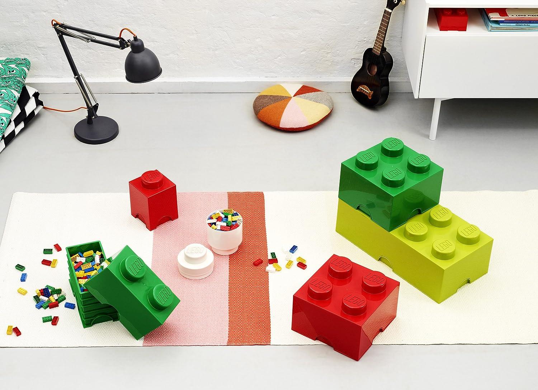 Amazon.com: LEGO Storage Brick 8 Lime Green: Room Copenhagen: Home & Kitchen