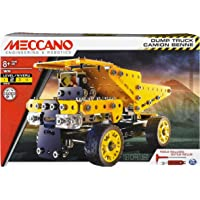 Erector by Meccano, Dump Truck Model Vehicle Building Kit, for Ages 8 and up, STEM Construction Education Toy
