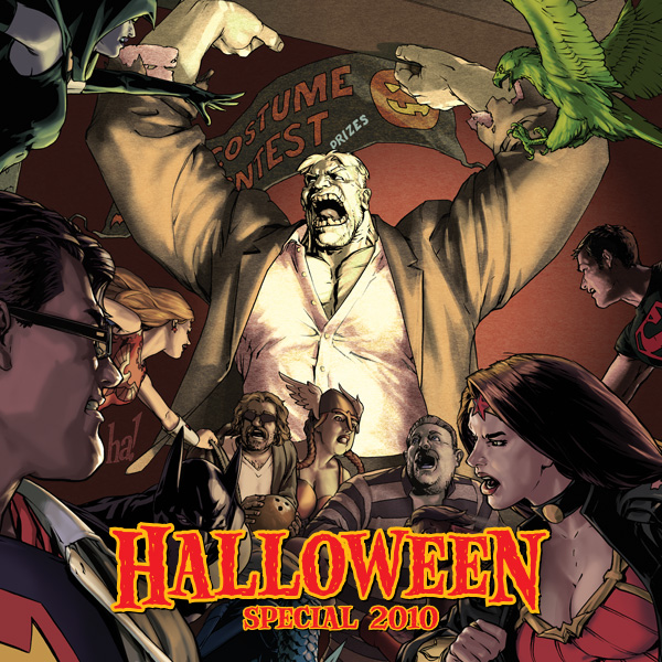 DCU Halloween Special (Issues) (4 Book Series) -