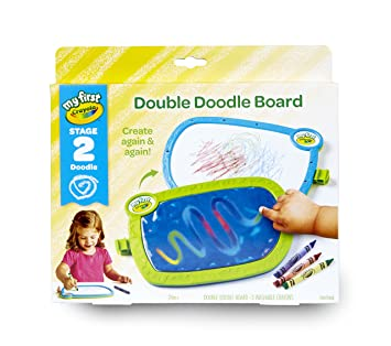 Amazon my first crayola double doodle board drawing tablet my first crayola double doodle board drawing tablet easter gifts for toddlers negle Gallery