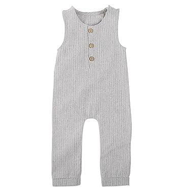 Linen Baby Romper by Babe Basics tbTush53